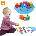 Balancing Wood Moon Toy - AHADAY- Online Shopping With Great Deals