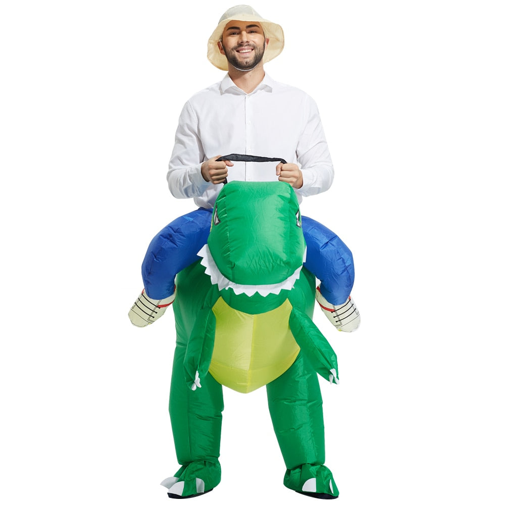 [Halloween Treats] Riding Dinosaur Costume - AHADAY- Online Shopping With Great Deals