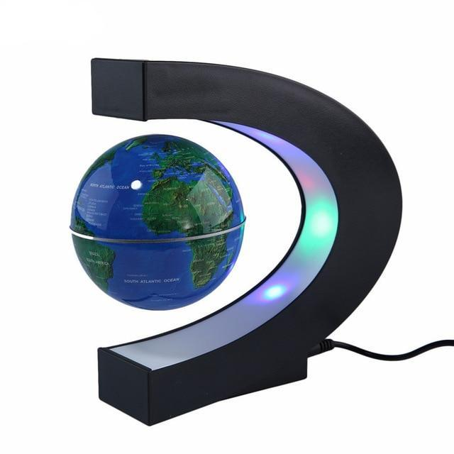 Levitating Globe With LED Light - AHADAY- Online Shopping With Great Deals