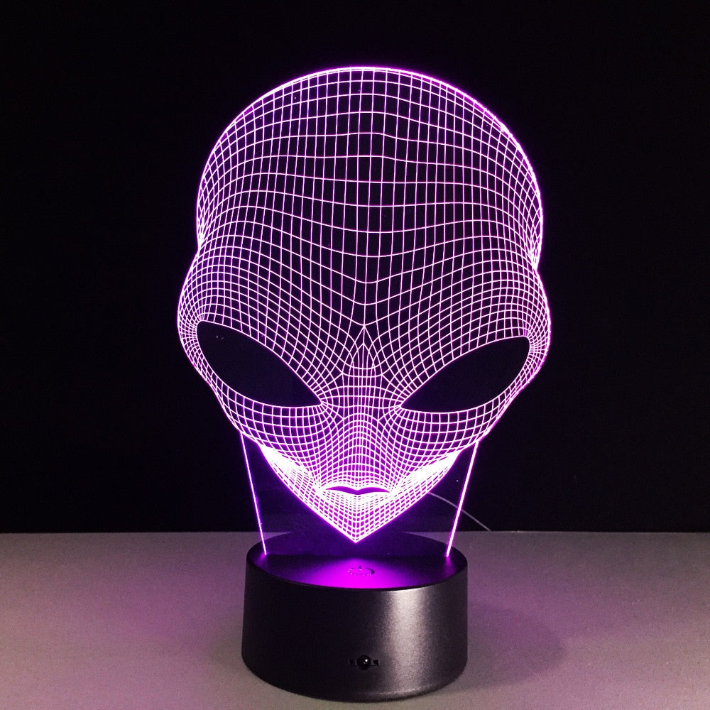 [Halloween Treats] Alien 3D LED Light