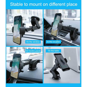 Automatically Locking Windshield Phone Holder [UNIVERSAL FIT]