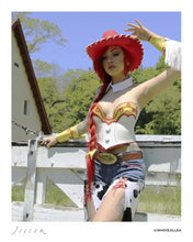 "Load image into Gallery viewer, Jillea - ""Jessie"" cosplay signed photo"