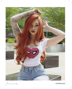 "Jillea - ""Mary Jane Watson"" cosplay signed photo"
