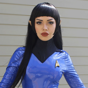 "Jillea - ""Spock"" cosplay signed photo"