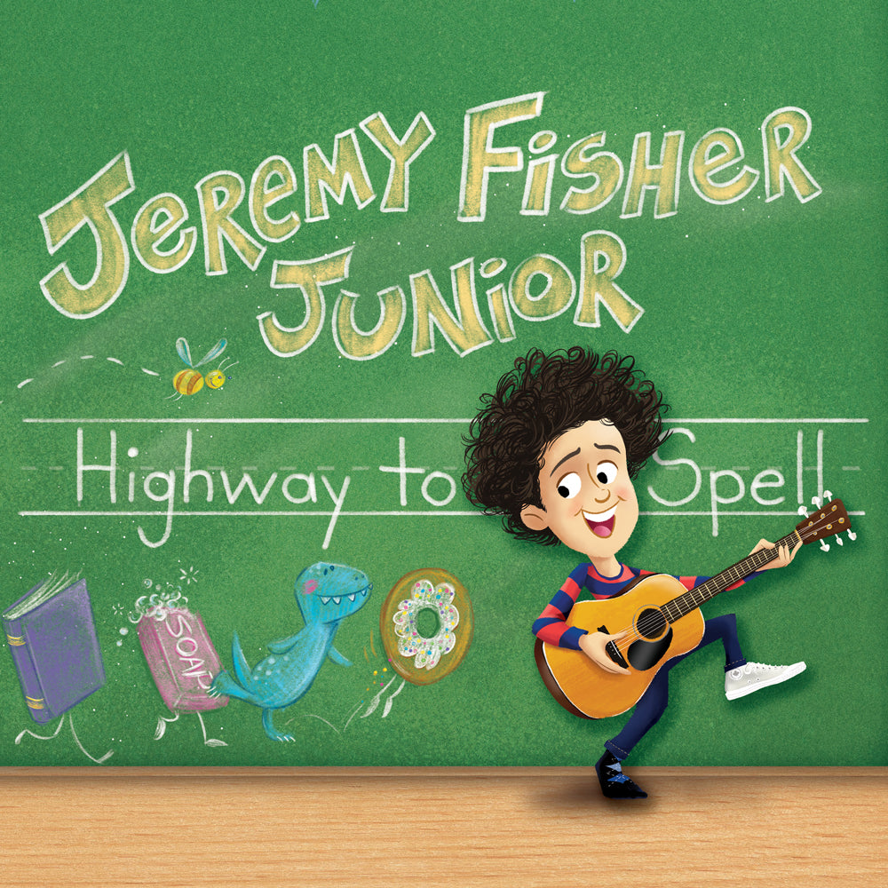 Jeremy Fisher Junior - Highway To Spell CD