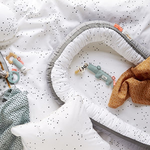 Babynest Dreamy Dots-Grey