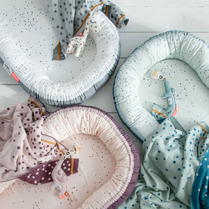 Babynest Dreamy Dots-Blue