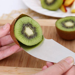 2 In 1 Stainless Steel Kiwi Peeler and Cutter
