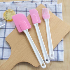 3PCS Kitchen Silicone Butter/Cream Spatulas