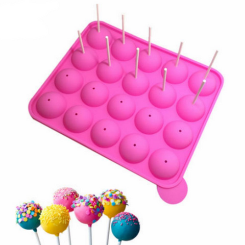 Cake Pops Silicone Baking Mold