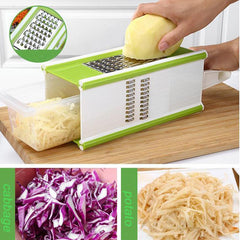 Multi-functional 6 in 1 Fruit and Vegetable Slicer/Grater