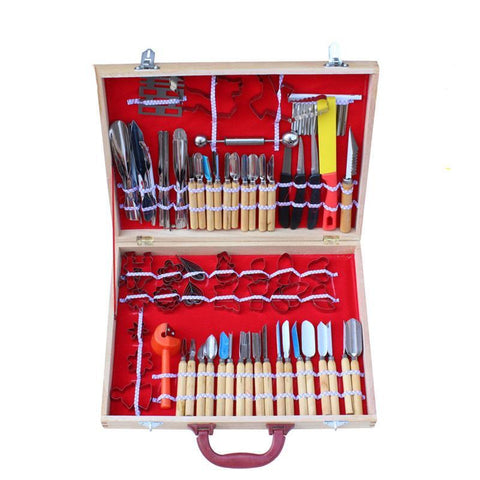 80pcs Culinary Carving Tool Set