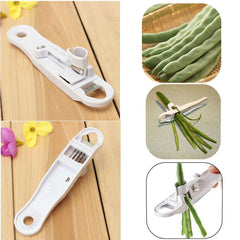 Unique and Useful Bean Slicer/Peeler