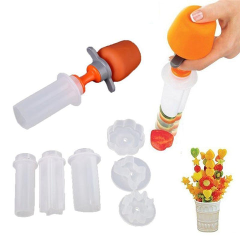Fruit and Vegetable Cutter w/ Molds