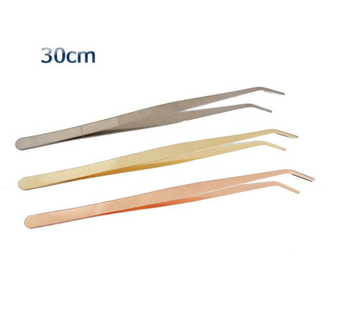 Stainless Steel Kitchen & Bar Tweezers