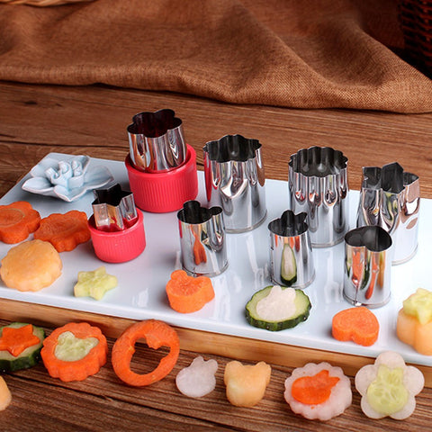 Stainless Steel Puzzle Fruit and Vegetable Cutter