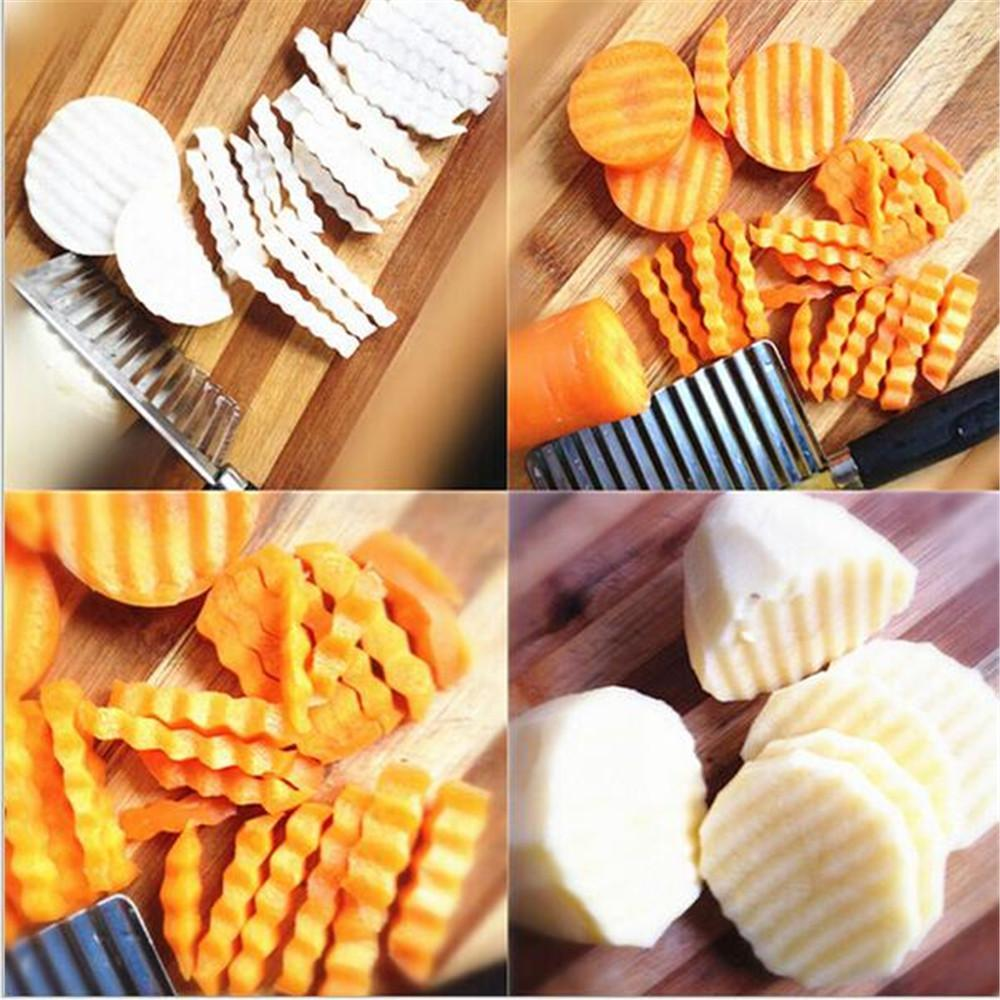 Crinkle/Wavy Potato and Vegetable Cutter