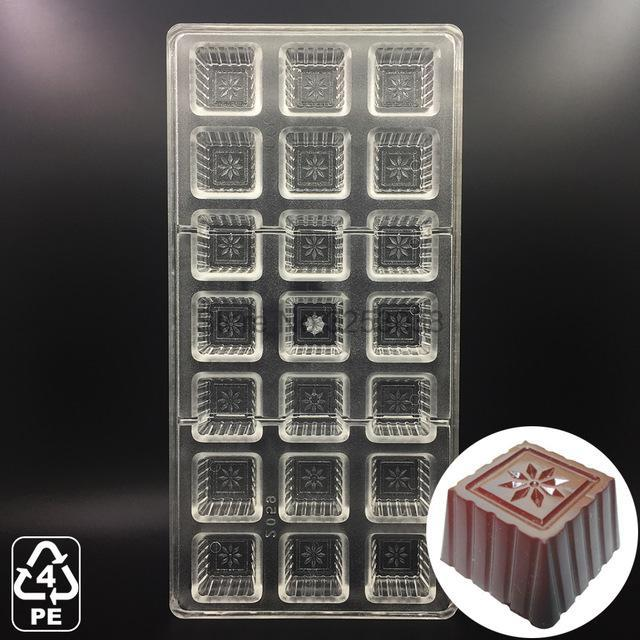 3D Polycarbonate Chocolate Molds