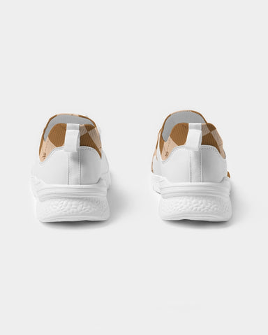 Brown Ankhgyle™ Pattern Women's Two-Tone Sneaker