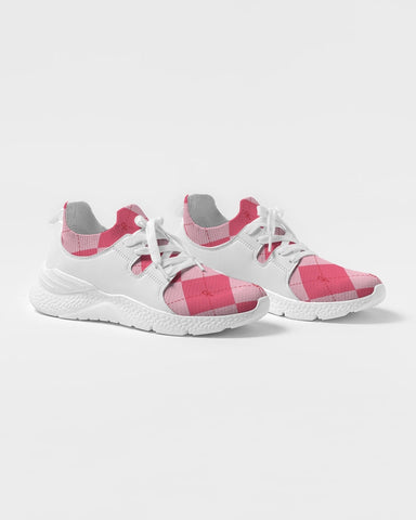 Pink Ankhgyle™ Pattern Women's Two-Tone Sneaker