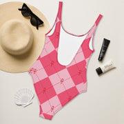 Pink Ankhgyle™ One-Piece Swimsuit