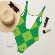 Green Ankhgyle™ One-Piece Swimsuit