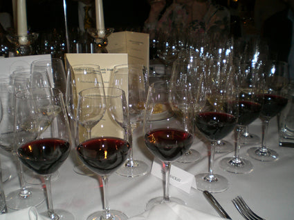 Just a few of the dinner wines...