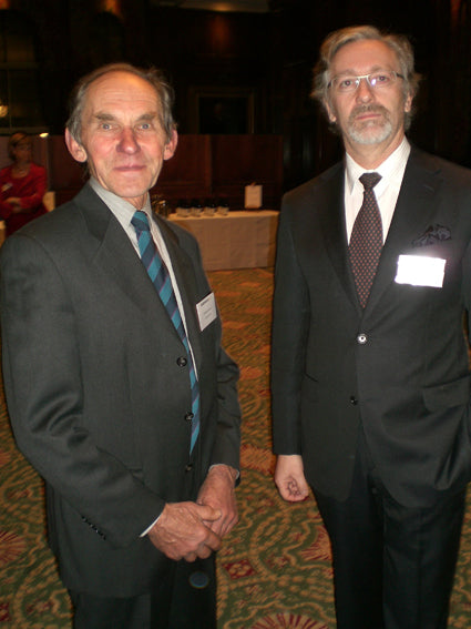 Christian Serafin and Laurent Ponsot
