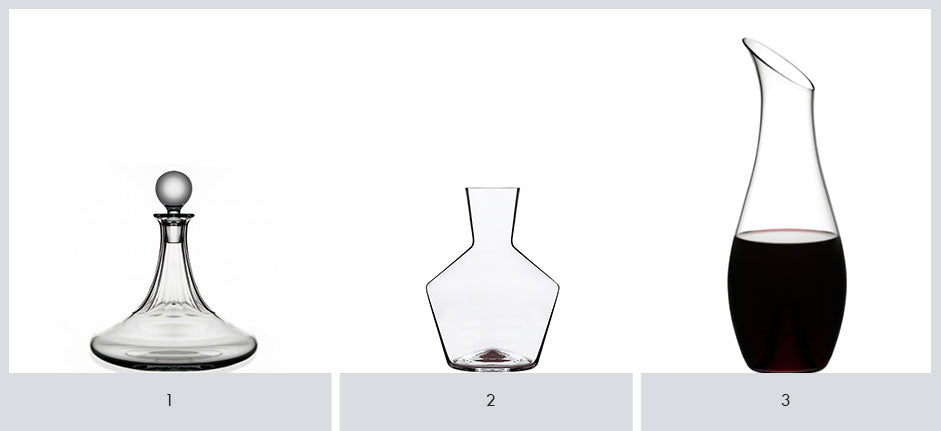 Some favourite decanters