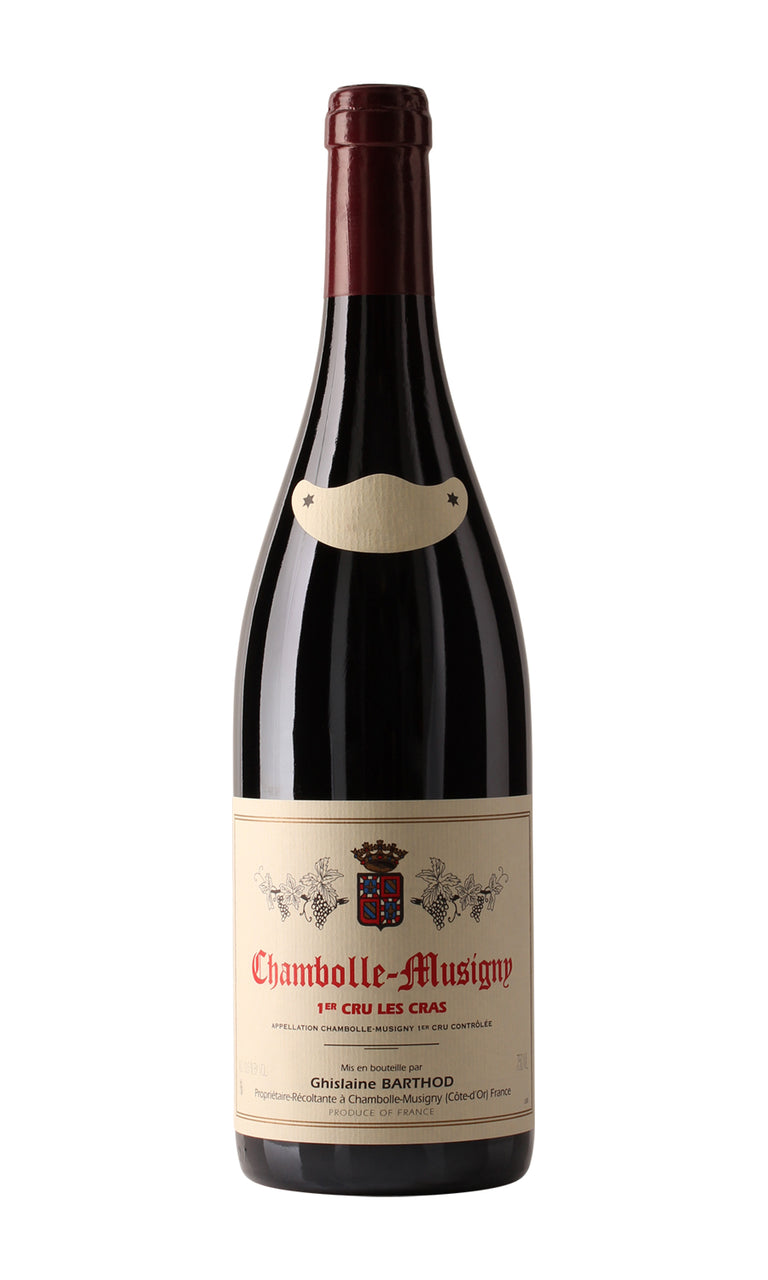 09A8CMCB _ 2008 - Chambolle Musigny 1er Cru Les Cras Ghislaine Barthod - 12x75cl