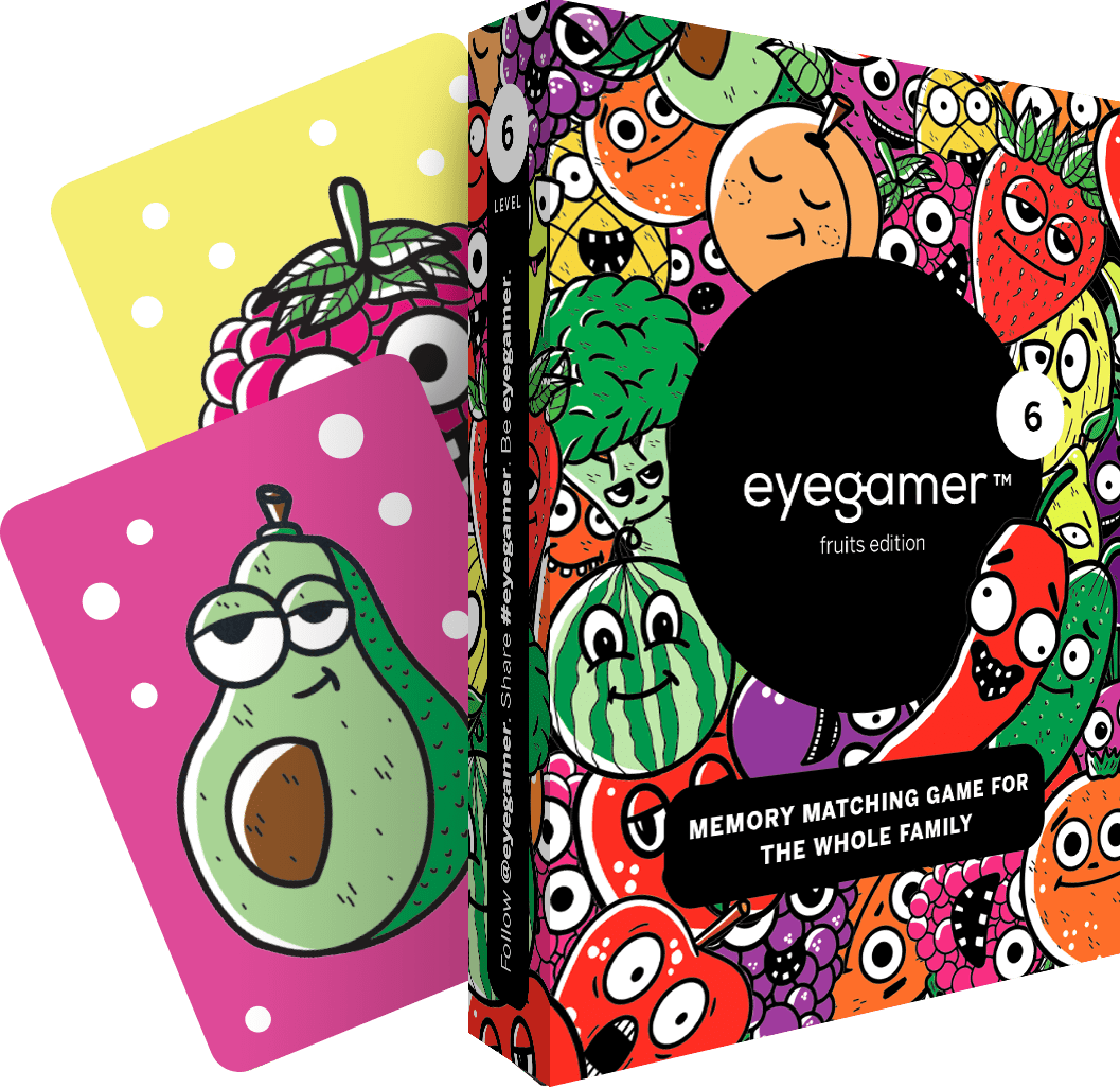 Eyegamer Level 6 — Fruits and vegetables