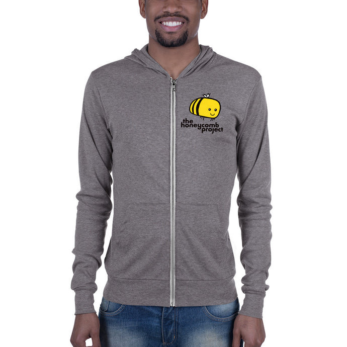 Honeycomb Zip-Up Hoodie (Adult)