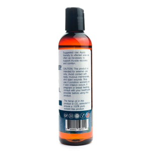 Hemp Extract Massage Oil