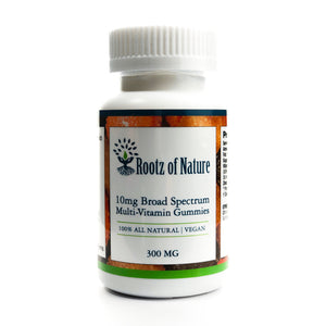 Vegan Broad Spectrum Multi-Vitamin Gummies