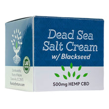 Load image into Gallery viewer, Blackseed 500mg Hemp Extract Dead Sea Salt Cream