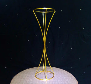 wedding tall centerpiece for reception table gold color florist wedding arrangement venue