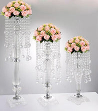 Load image into Gallery viewer, 10 pieces Acrylic European style Wedding Centerpiece with Crystals
