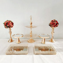 Load image into Gallery viewer, Wedding DIY decoration set/ flower stand/ cupcake & cake stand/ dessert tray