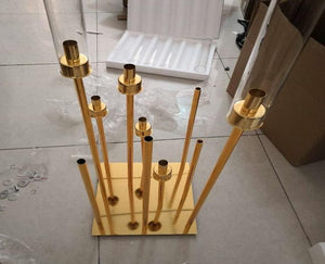 Candle holder for wedding and event decoration 2 pieces