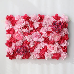 red pink rose Wedding Flower Wall Panel For Party Birthday Decoration Artificial Rose Floral Wall Party Arrangement Wedding Photography Backdrop 40*60CM white flowers in usa in australia in uk