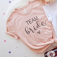 Load image into Gallery viewer, Bachelorette Team Bride Tshirts