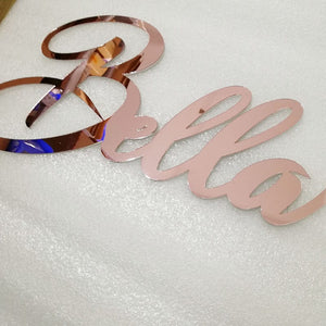 Personalized Name Acrylic Sign wedding/party/bridal shower for decoration