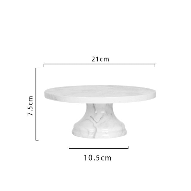 Marble cupcake/cake tray stand