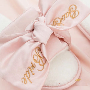 Personalized Bride slippers