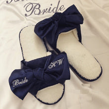 Load image into Gallery viewer, Personalized Bride slippers