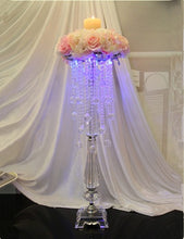 Load image into Gallery viewer, Beautiful crystal  centerpiece acrylic flower stand