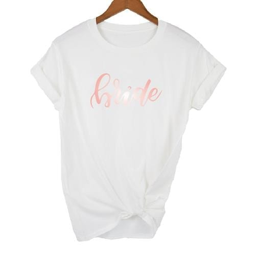 Bachelorette Party Brides Babes /Bride T-shirt