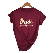 Load image into Gallery viewer, Bachelorette Party Wedding Bridal Party  T-shirt