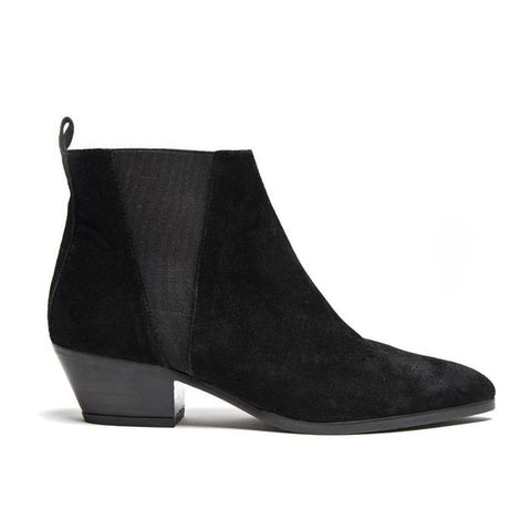 Rocio Bootie - Black Suede - PRE-ORDER: This product will ship in ten days