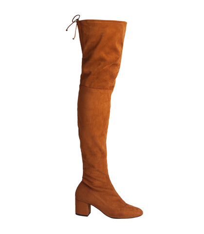Macarena Boot - Brown Suede